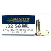 MAGTECH AMMO .32S&W LONG 98GR. SEMI JHP 50-PACK