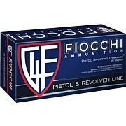 FIOCCHI AMMO .357 MAGNUM 125GR. JHP 50-PACK