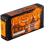 HSM AMMO .357 MAXIMUM 180GR HORNADY XTP 20-PACK