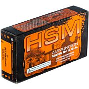 HSM AMMO .357 MAXIMUM 158GR SIERRA JHP 20-PACK