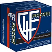 FIOCCHI AMMO .38 SPECIAL L+P 110GR. XTP-HP 25-PACK