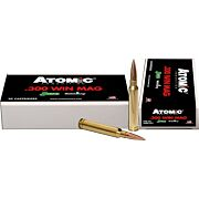 ATOMIC AMMO .300WM  220GR. MATCH SIERRA HPBT 20-PACK