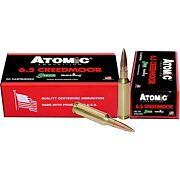 ATOMIC AMMO 6.5 CREEDMOOR MATCH 142GR. SIERRA SMK 20-PK