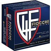 FIOCCHI AMMO .40SW 155GR. XTP-HP 25-PACK