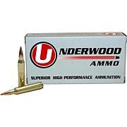 UNDERWOOD AMMO .22-250 REM. 60GR. BALLISTIC TIP-BT 20-PACK