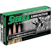SIERRA AMMO 6.5MM CREEDMOOR 130GR. GAMECHANGER 20-PACK