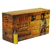 HSM COWBOY AMMO .44S&W SPECIAL 200GR. LEAD RNFP-HARD 50-PACK
