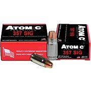 ATOMIC AMMO .357 SIG 147GR. BONDED JHP 20-PACK