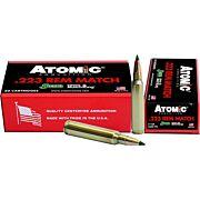 ATOMIC AMMO .223 REM. 77GR. MATCH SIERRA TMK 20-PACK
