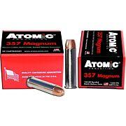 ATOMIC AMMO .357 MAGNUM 158GR. BONDED JHP 20-PACK