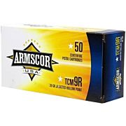 ARMSCOR AMMO .22TCM9R 39GR JHP 100-PK (NOT THE SAME AS 22TCM)