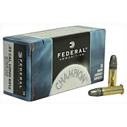 FED AMMO LIGHTNING .22LR 1240FPS. 40GR. LEAD-RN 50-PACK