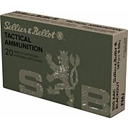 S&B AMMO .300AAC BLACKOUT 147GR. FMJ 20-PACK