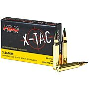 PMC AMMO 5.56K .223 REMINGTON (M855)62GR. LAP 20-PACK