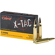 PMC AMMO 5.56X .223 REMINGTON 55GR. FMJ-BT 20-PACK