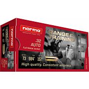NORMA AMMO .32 AUTO 73GR. FMJ 50-PACK
