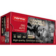NORMA AMMO .380ACP 95GR. FMJ 50-PACK