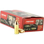 NORMA AMMO 9MM LUGER 115GR. FMJ 50-PACK