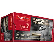 NORMA AMMO .38 SPECIAL 158GR. FMJ 50-PACK