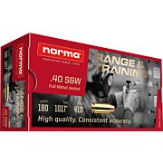 NORMA AMMO .40SW 180GR. FMJ 50-PACK