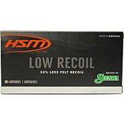 HSM AMMO 6.5 CREEDMOOR 140GR SBT LOW RECOIL 20-PACK