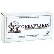 GREAT LAKES AMMO .44-40 WIN. 200GR. LEAD RNFP-POLY 50-PACK