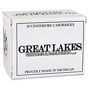GREAT LAKES AMMO .44-40 WIN. 200GR. LEAD RNFP-POLY 20-PACK