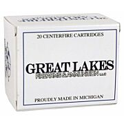 GREAT LAKES AMMO .460SW MAGNUM 300GR. LEAD-RNFP POLY 20-PACK