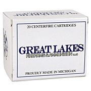 GREAT LAKES AMMO .50 BEOWULF 330GR. LEAD RN POLY 20-PACK