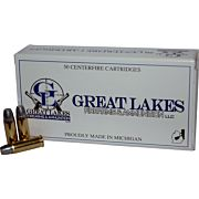 GREAT LAKES AMMO .32SWL 100GR. LEAD-RNFP 50-PK