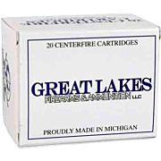 GREAT LAKES AMMO .458 SOCOM 400GR. JFP 20-PACK