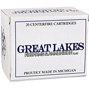 GREAT LAKES AMMO .450 BUSHMASTER 300GR. JSP 20-PACK