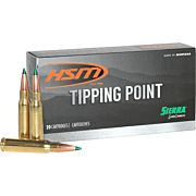 HSM AMMO 6MM CREEDMOOR 90GR. SIERRA GAME CHANGER 20-PACK