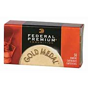 FED AMMO GOLD MEDAL .22LR 1080FPS. 40GR. LEAD-RN 50PK