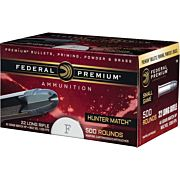 FED AMMO HUNTER MATCH .22LR 1200FPS. 40GR. LEAD-RN 50PK