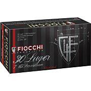 FIOCCHI AMMO .30 LUGER 93GR. SJSP 50-PACK