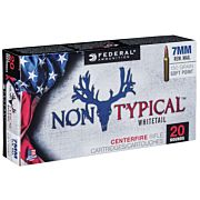 FED AMMO NON TYPICAL 7MM REM. MAG. 150GR. SP 20-PK