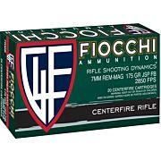 FIOCCHI AMMO 7MM REM. MAG. 175GR. INTERLOCK FB 20-PACK