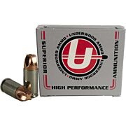 UNDERWOOD AMMO 9MM LUGER 65GR. EXTREME PENETRATOR 20-PACK