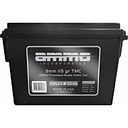 AMMO INC AMMO 9MM LUGER 115GR. TMC AMMO CAN 200-PACK