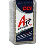 CCI AMMO VARMINT TIP .17HMR 17GR. 50-PK
