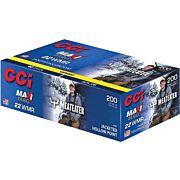CCI AMMO MAXI-MAG .22WMR MEAT EATER 40GR. JHP 200-PK