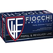 FIOCCHI AMMO 9MM LUGER 115GR. FMJ 50-PACK