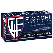 FIOCCHI AMMO 9MM LUGER 124GR. JHP 50-PACK