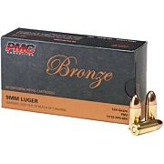 PMC AMMO 9MM LUGER 124GR. FMJ 50-PACK