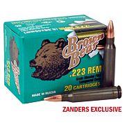 BROWN BEAR .223 REMINGTON 55GR FMJ-BT 20-PACK
