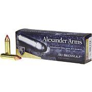ALEXANDER AMMO .50 BEOWULF 300GR. FTX 20-PACK