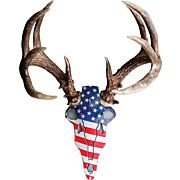 DO-ALL HORN MOUNTING KIT AMERICAN IRON BUCK RED/WHT/BLU