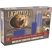 "LIGHTFIELD 12GA 2.75"" X-RANGE RUBBER SLUG 5-PACK"