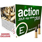ELEY AMMO ACTION PLUS .22LR 42GR. ROUND NOSE 500-PACK